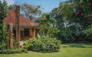 Prelepa ureditev zelene okolice hiše.